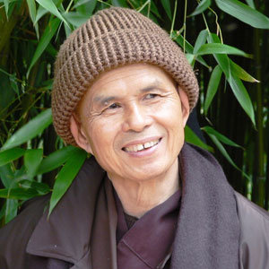 Breathing meditation exercise with Thich Nhat Hanh